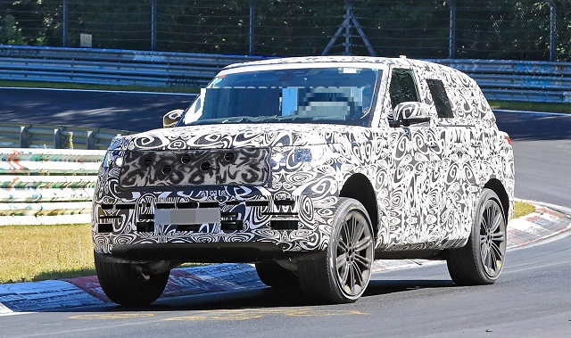 2022 Range Rover Will Be More Powerful With A New Engine Us Suvs Nation Land Rover Discovery Sport Range Rover Evoque Land Rover