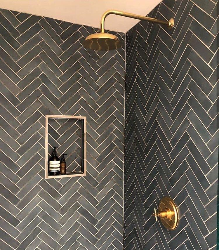 Pin De Beatriz Em Banheiros Com Imagens Banheiro Azulejo