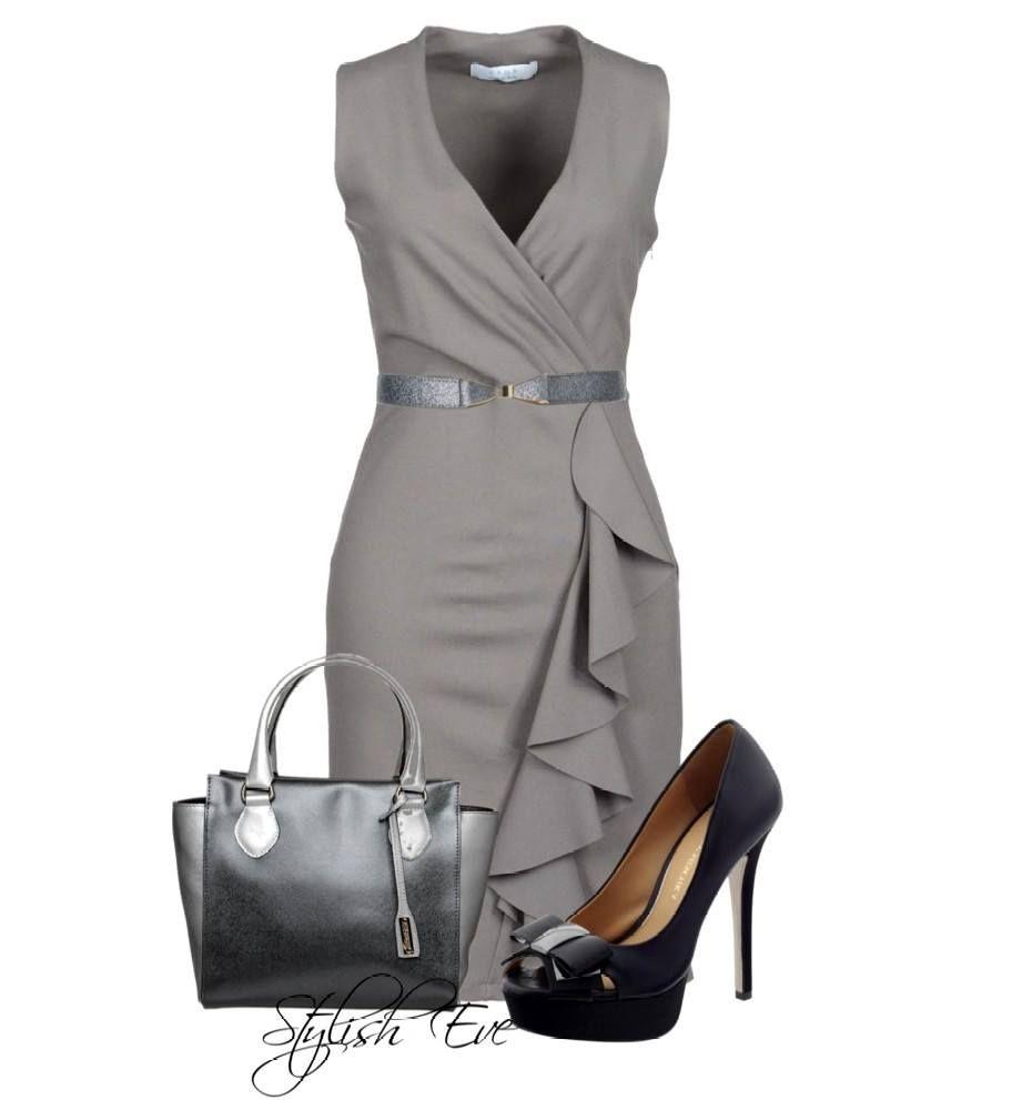 gray office attire