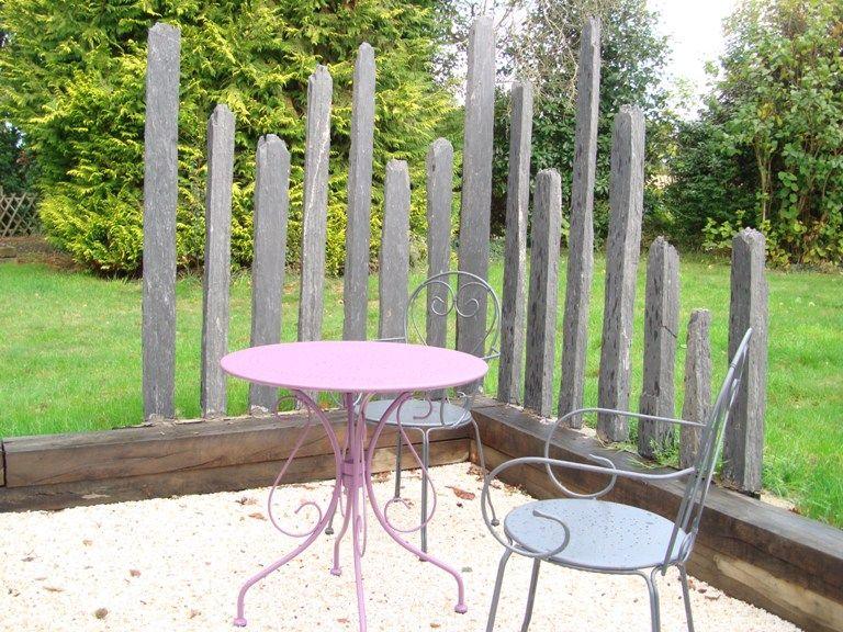 Decoration paysagere traverses paysagères en bois, Traverses de ...