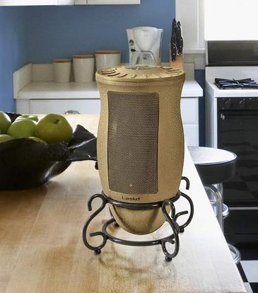 Lasko Designer Series Ceramic Space Heater Features Oscillation Remote And Built In Timer Beige Space Heater Lasko Design