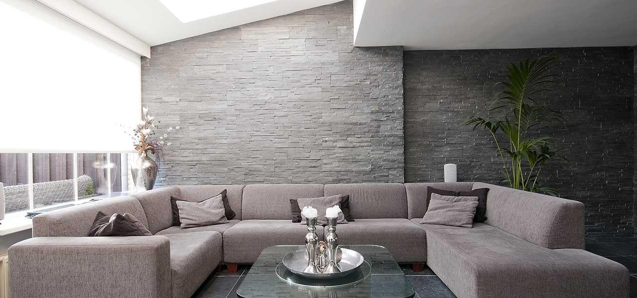 Emejing Muur Ideeen Woonkamer Images - Amazing House Decorating ...