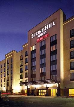 SpringHill Suites St. Louis Brentwood Brentwood (Missouri) An indoor pool is available at this Brentwood, Missouri hotel along with guest studios that include free Wi-Fi. The Anheuser-Busch Brewery is 9 miles away.  Studios at SpringHill Suites St.
