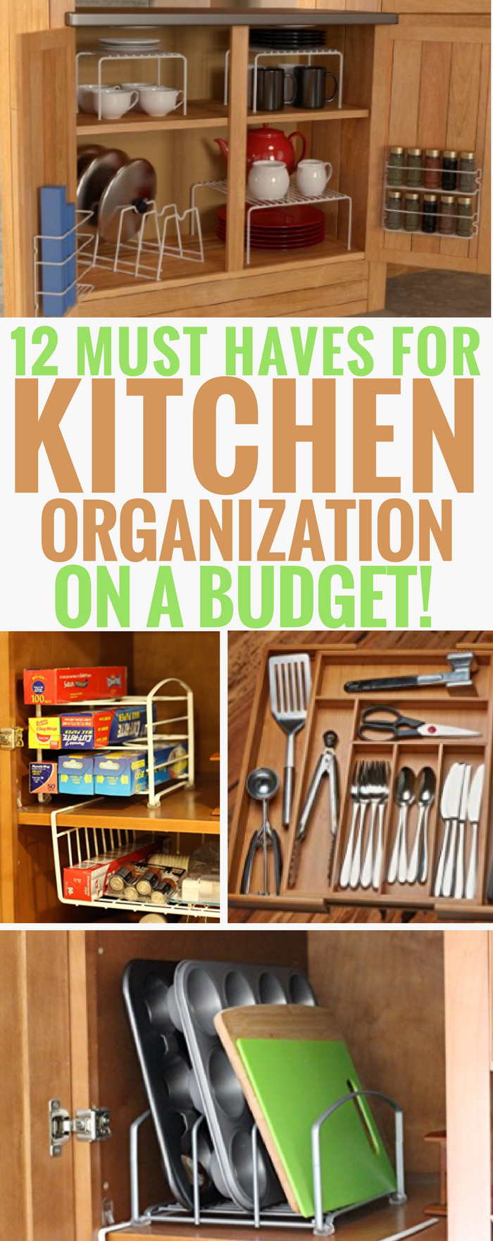 12 Must Have Products for Kitchen Organization On A Budget ...
