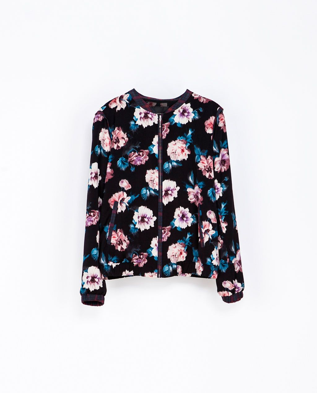 FLORAL PRINT JACKET from Zara trf