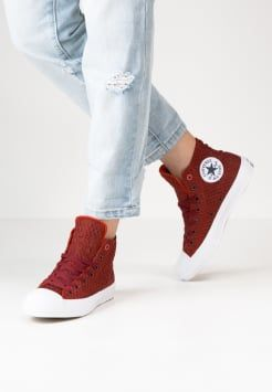 Converse - CHUCK TAYLOR ALL STAR II - Sneakers alte - signal red/white