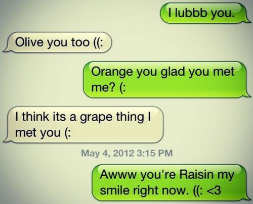 Flirting sms to boyfriend