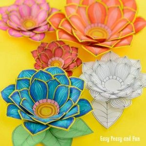 coloring pages archives  easy peasy and fun  printable flower coloring pages flower crafts