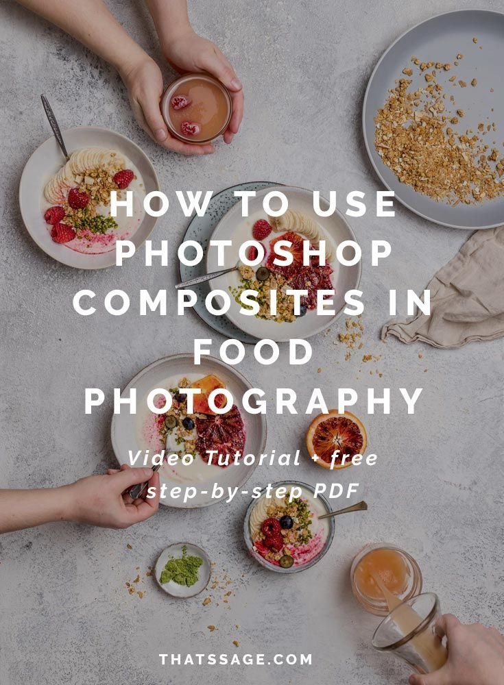 How To Use Photoshop Composites To Create Busy Food
