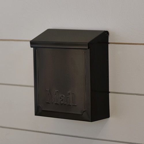 Townhouse Locking Wall Mounted Mailbox Home Remodeling