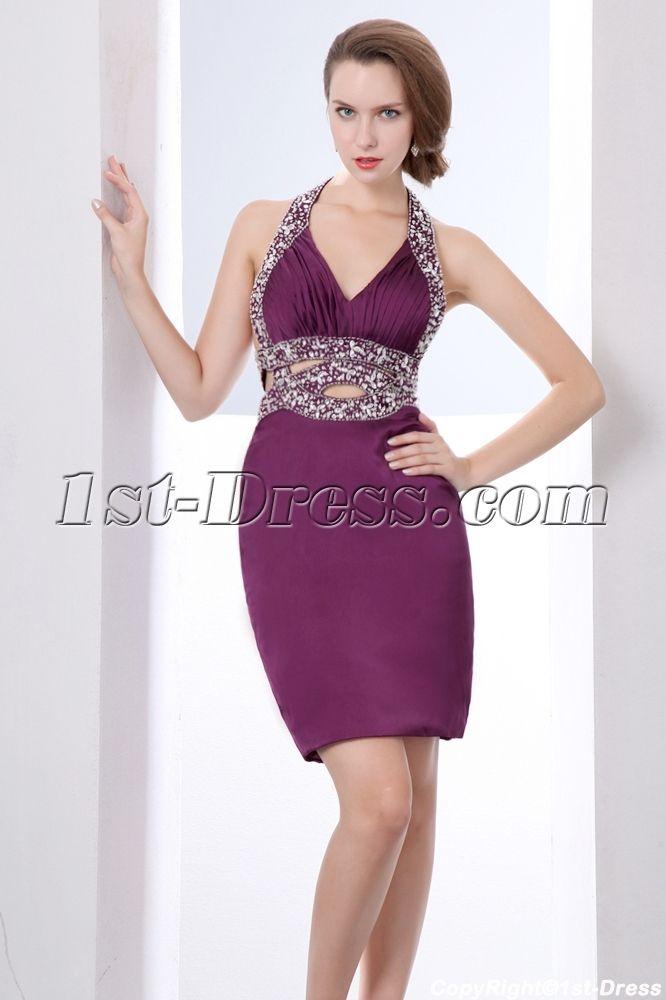 grape sexy graduation dresses for college:1st-dress.com #graduationdresscollege