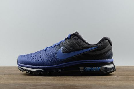 Nike Airmax 2017 Blue Running Shoes : Shop Online At