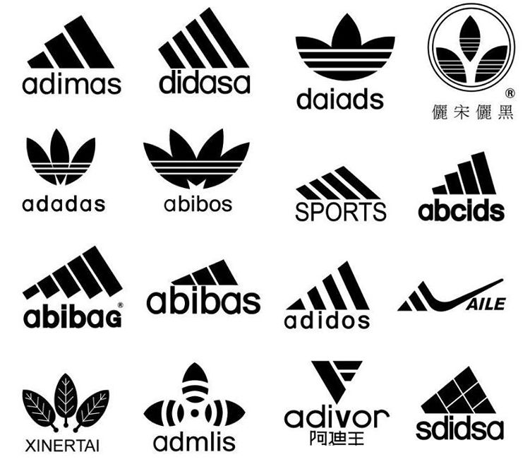 Adidas Fake Logos Logo Wordmark Icon Logos Logo Design Art
