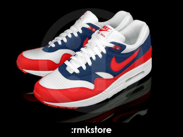 Nike Air Max 1 ND Mid Navy Action Red White Neptune Blue