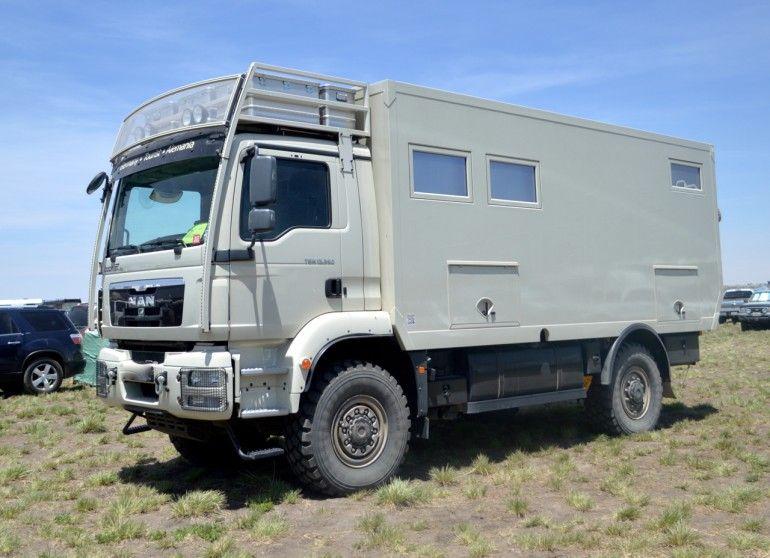 Rugged MAN camper. Unicat | Trucks, Jeeps, ATVs, UTVs, Expedition ...