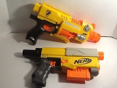Nerf Gun Lot Barricade And Recon Both Working