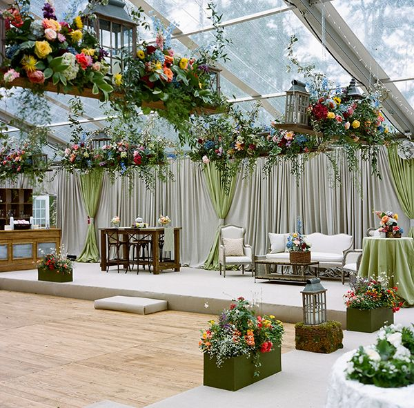 Indoor Wedding Ceremony Victoria Bc: Elegant North Carolina Wedding