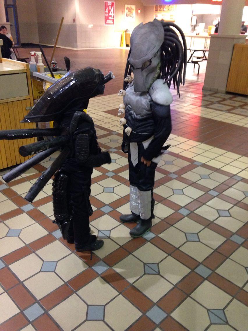 Alien vs predator costumes   Children's alien vs predator home ...