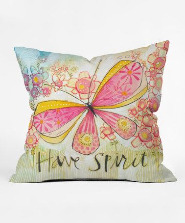 Love this 'Have Spirit' Throw Pillow by Deny Designs on #zulily, $27-$30 !!  #zulilyfinds