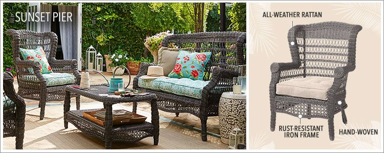 Sunset Pier Collection Outdoor Furniture 1 Imports