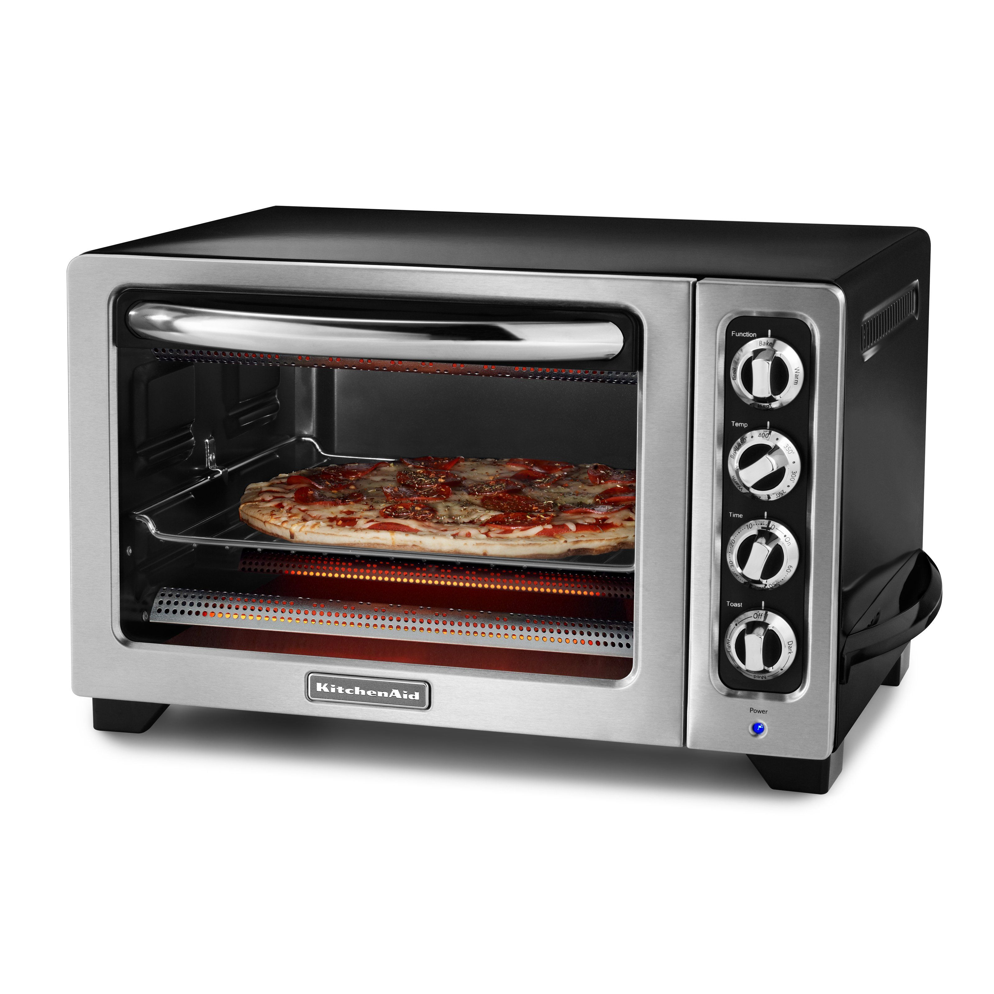 parts of convection toaster reviews oven kitchenaid digital awesome kcoob countertop