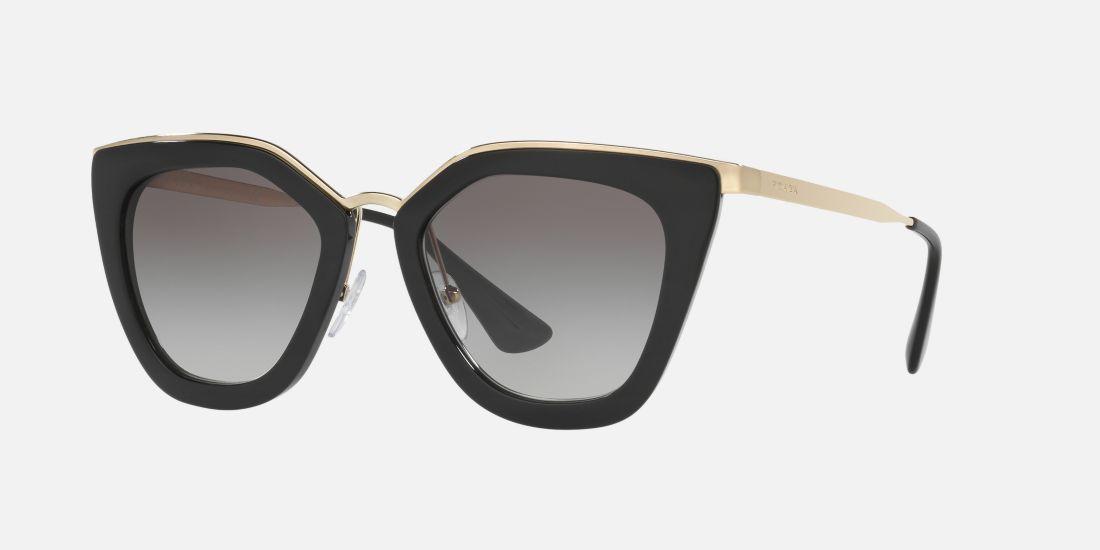 2957550e07f6 Prada PR 53SS 52 Grey   Black Sunglasses