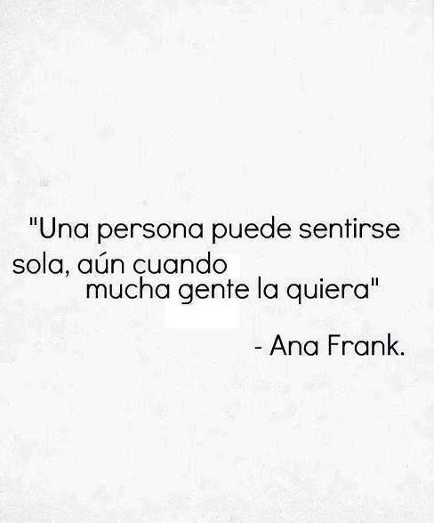 frase Ana Frank ༺✿ƬⱤღ  https://www.pinterest.com/teretegui/✿༻