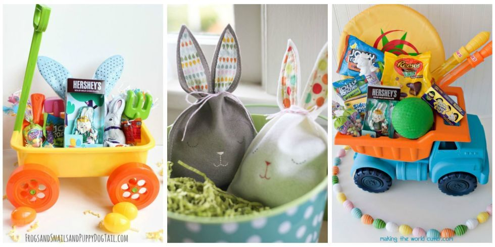 30 creative easter basket ideas your kids will love basket ideas 30 easter basket ideas for kids best easter gifts for babies toddlers and negle Gallery