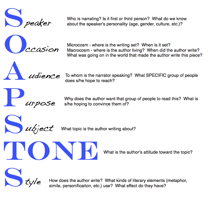 Soapstone Reading Strategy : The soapstone strategy works well when reading a story