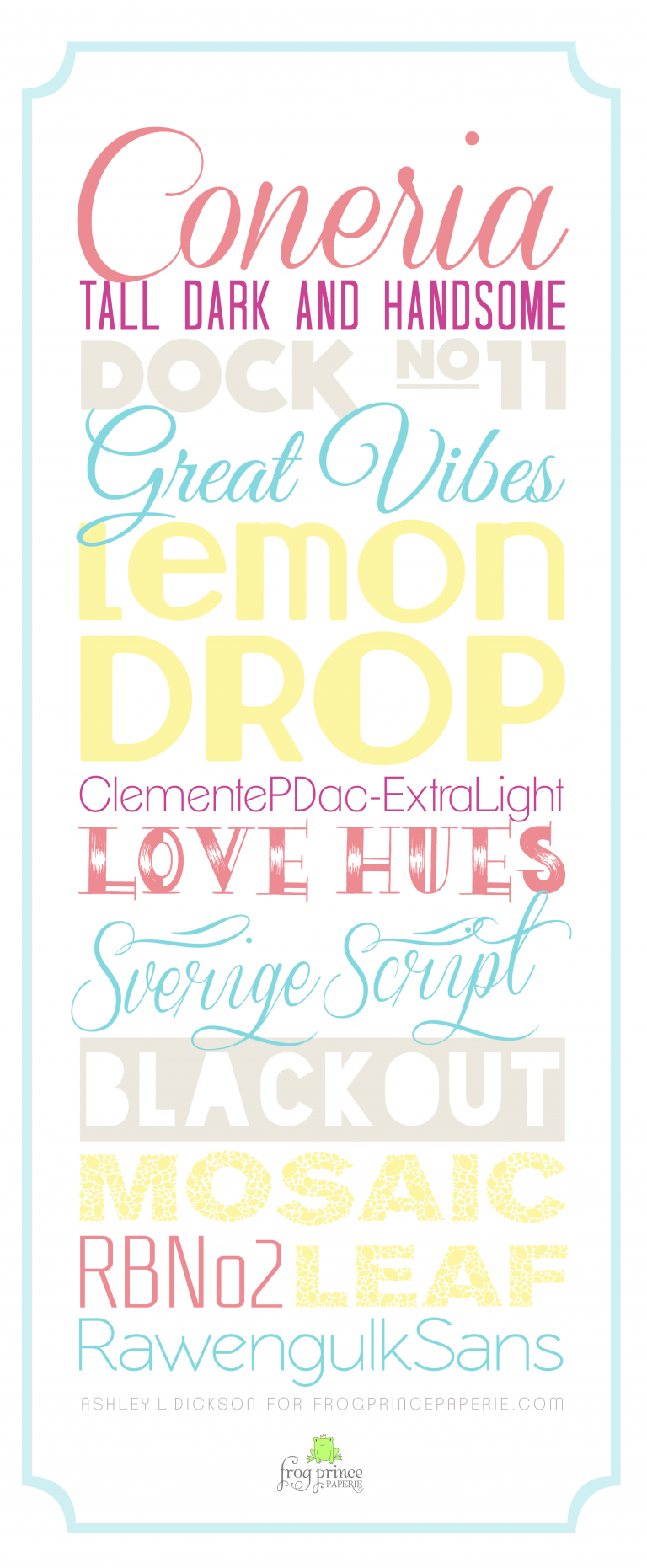 Free Summer Fonts A Tiny Bit of Typography Summer font