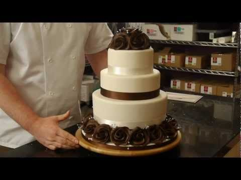Rose Wedding Cake Preview - Cake Decorating with Paul Bradford