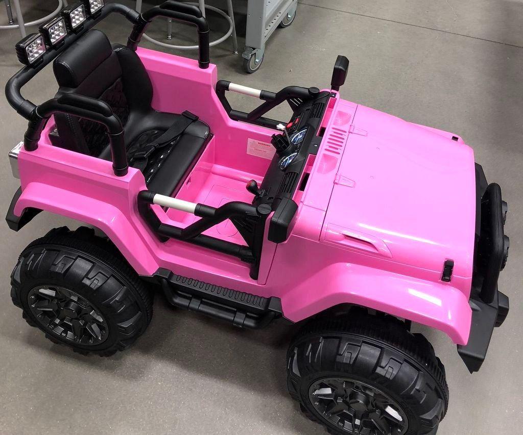 Wsu Gobabygo Modification 12v Jeep With Big Mac Switch Kids Jeep Toy Cars For Kids Big Car Toys [ 853 x 1024 Pixel ]