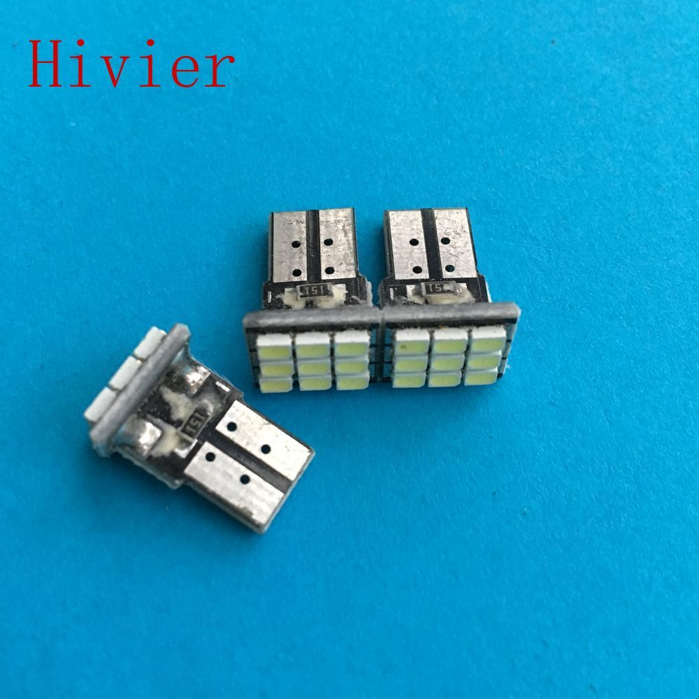 Auto Interieur Lamp Hoge Kwaliteit 10x Witte T10 W5w 194 168 9smd 1206 3020 9 Smd Auto