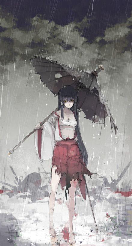 manga inspired illustration