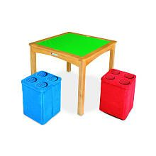 Pleasant Toysrus 120 Imaginarium Lego Activity Table With 2 Andrewgaddart Wooden Chair Designs For Living Room Andrewgaddartcom
