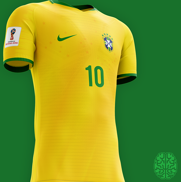 Fifa World Cup 2018 Kits Redesigned On Behance Com Imagens Futebol Colombia