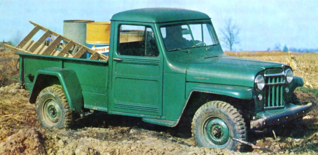 File:1956 Willys Jeep Pickup.jpg - Wikimedia Commons | Willys! TRUCK