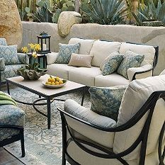 Frontgate Moreaux Outdoor Furniture Collection Patio