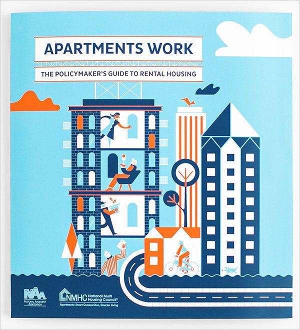 national multi housing council brochure design example art print