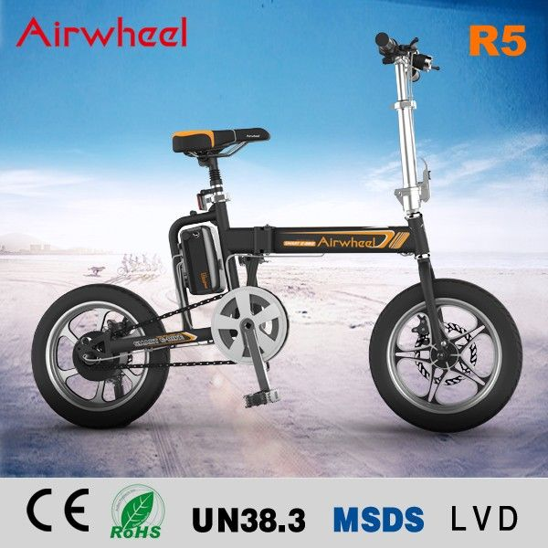 17cbce007e2 Airwheel R5 two wheels 16 inch pedal assisted chinese moped folding  electric bicycle ebike #bicycles, #fashion