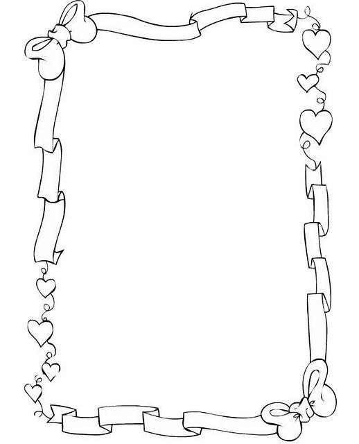 Margenes Para Cartas De Amor Para Dibujar Imagui Bordes