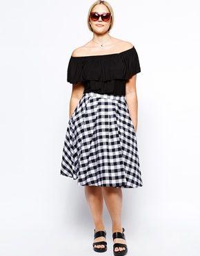 Immagine 4 di New Look Inspire - Top stile Bardot