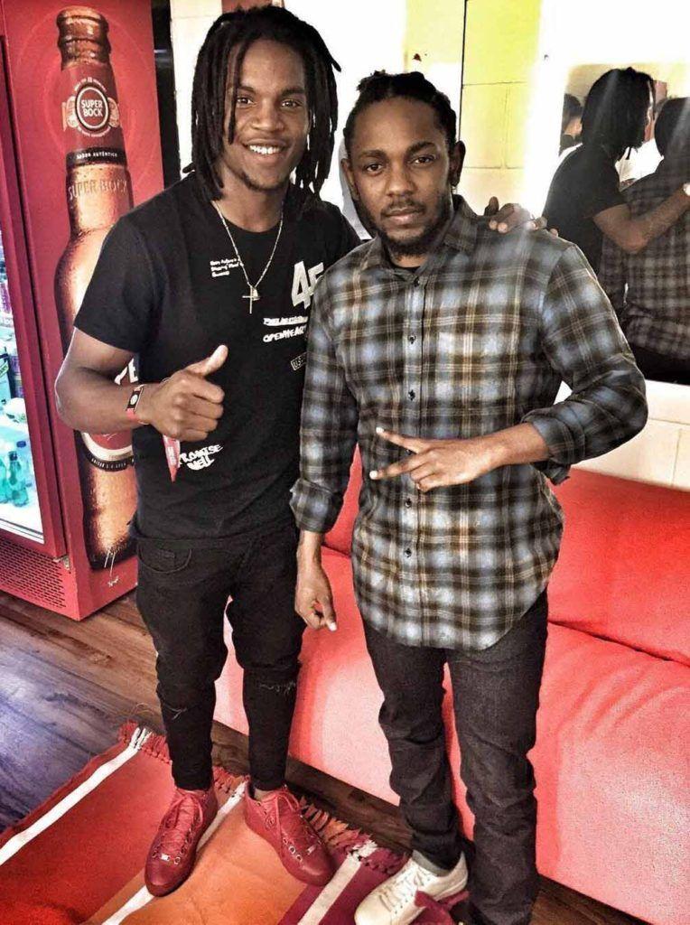 4f63ca2f3 Renato Sanches meets Kendrick Lamar  renatosanches  kendricklamar   balenciaga  lisbon  superbocksuperrock
