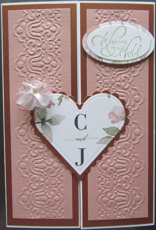 gate fold wedding using a portion of the wedding