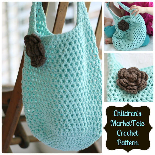 Daisy Cottage Designs: Free Market Tote Crochet Pattern @Lauren ...