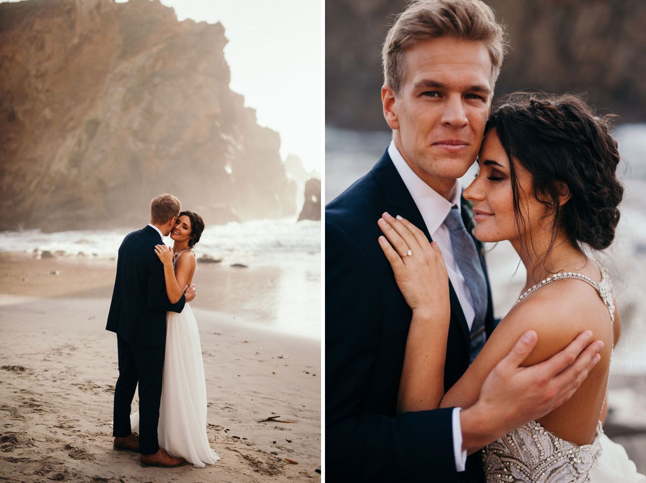 Intimate Big Sur Beach Wedding Planned In 90 Days Green Wedding Shoes Beach Wedding Planning Big Sur Wedding Beach Wedding Locations
