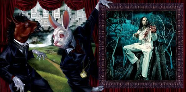 David Stoupakis 2005 Korn See You On The Other Side Ltd Ed Virgin 09463471132g Booklet Cover Art Art Artwork