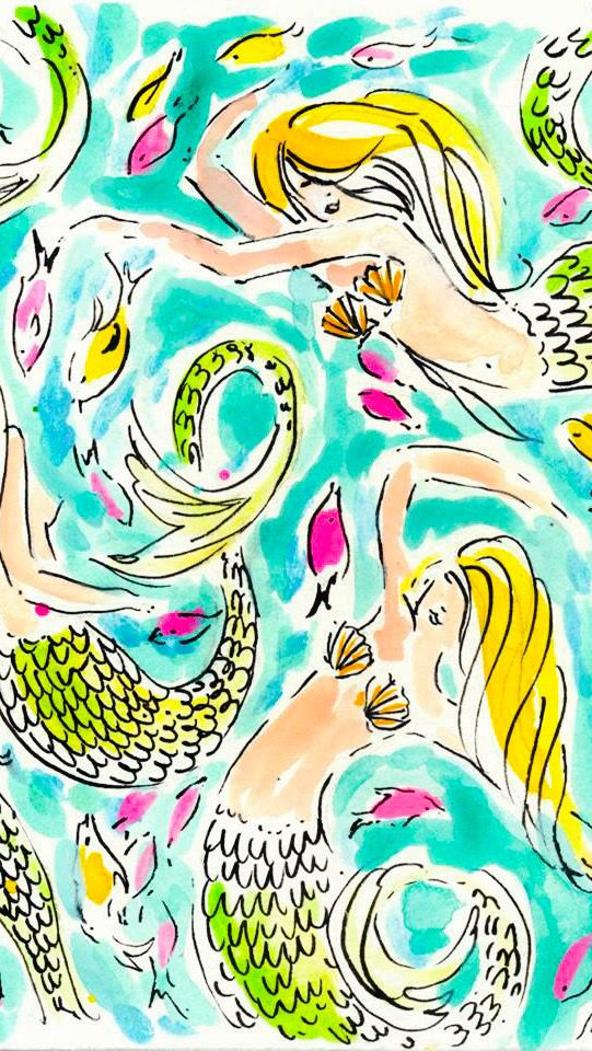 Pin by Allie M. on iPhone wallpapers Mermaid wallpapers