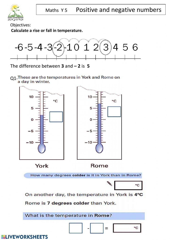 Positive And Negative Math Worksheets Inspirational Positive And Negative Numbers In 2020 Kindergarten Worksheets Printable Negative Numbers Worksheet Math Worksheets