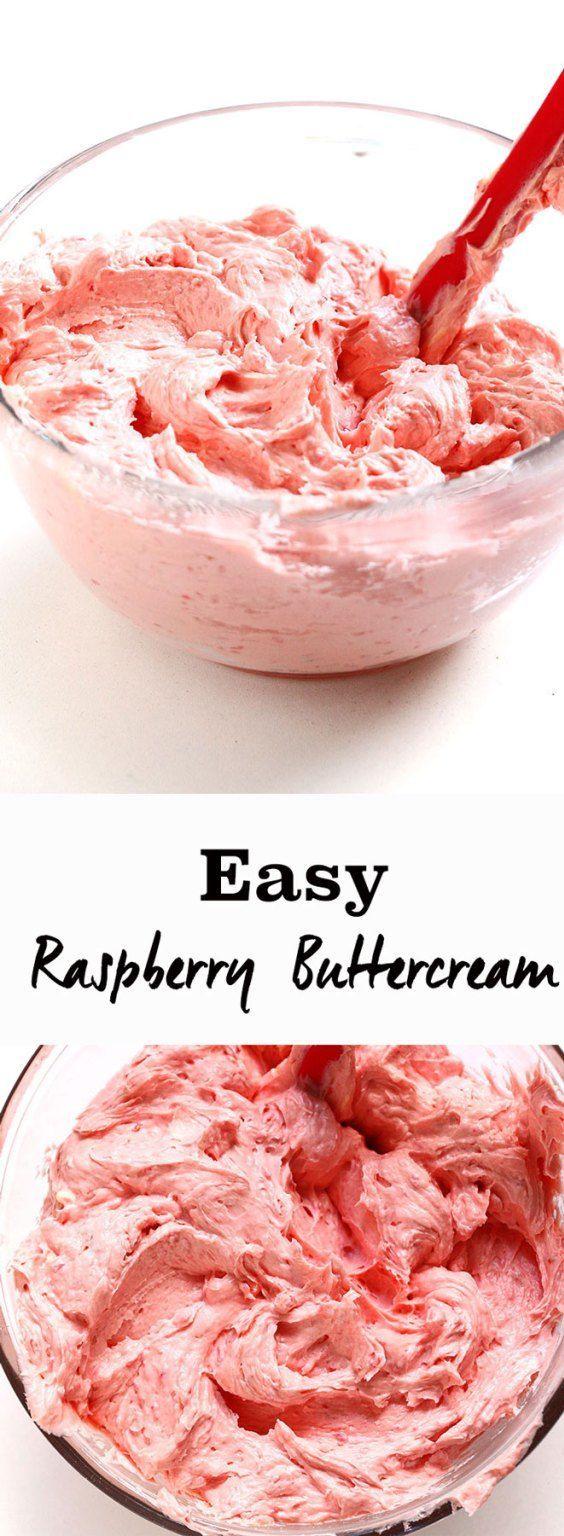 Easy Raspberry Buttercream Recipe Easy Recipes And